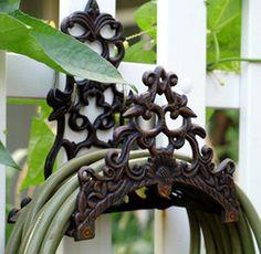 Online Shop Vintage Garden Wall Mounted Hose Holder, Cast Iron Hose Hanger Rustic Home Decor Metal CraftOutdoor Wall Supplies|Aliexpress Mobile