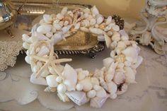 How To Make A Seashell Wreath
