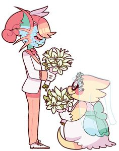 Alphyne Alphys Undyne wedding undertale