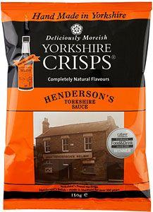 Yorkshire Crisps' Henderson's Relish crisps