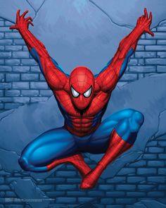 Spiderman wallcrawler