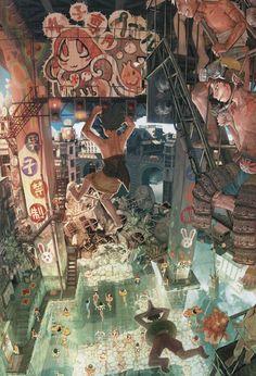 Dibujo Artístico, Escenarios, Ilustraciones De La Acuarela, Ilustración De Arte Favorita, Ilustración Cosas, Ilustraciones Anime Manga,