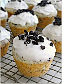 Cookies and Cream Donut Muffins