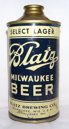 Blatz Beer you may ind humor but Als beer o choice