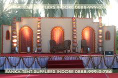 Indian wedding comes with loads of responsibilities and customs. Each and every custom in Indian wedding is of utmost importance and is special in its own ways. The wedding reception should be planned in such a way so that it stays in the hearts of guest attending the wedding function the rest of their lives.  ReadMore.... http://www.indoretent.com/