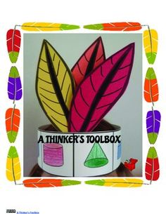 Indian Hat Craft by A Thinker's Toolbox. This is a educational and engaging craft that can be done with PreK, Kindergarten, or 1st Grade.