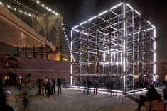 Origin LED Installation is a Giant Technocratic Life Form Unde...