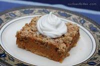 Thanksgiving dessert- Pumpkin Crumble