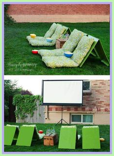 ideas for outdoor patio furniture-#ideas #for #outdoor #patio #furniture Please Click Link To Find More Reference,,, ENJOY!! Diy Outdoor Party, Outdoor Lounge, Outdoor Seating, Outdoor Birthday, Outdoor Theater, Outdoor Balcony, Lounge Seating, Indoor Outdoor, Backyard Movie Party