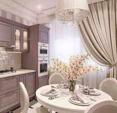 Elegant Interior Designs ∘・゚ Kitchen Interior, Interior Design Living Room, Kitchen Decor, Küchen Design, House Design, Design Layouts, Cozinha Shabby Chic, Small Space Interior Design, Design Interior