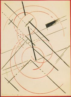 Lyubov Popova, Lineare Composition, nd