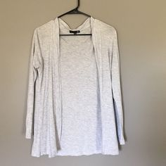 Selling this Light gray cardigan in my Poshmark closet! My username is: mercedesgp. #shopmycloset #poshmark #fashion #shopping #style #forsale #Cotton On #Sweaters
