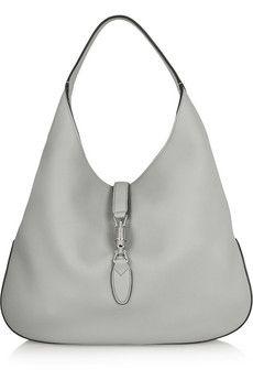 2e2756f68b Gucci - Jackie Soft Hobo textured-leather shoulder bag