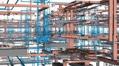 Over a decade of experience in providing MEP BIM services to the construction industry. Bim Model, Building Information Modeling, Presentation Layout, Multi Story Building, Construction, Building
