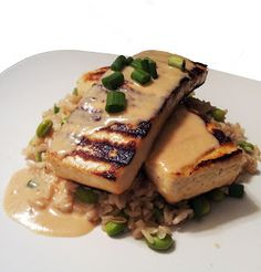 Lemongrass Tofu with Coconut Soy & Brown Rice