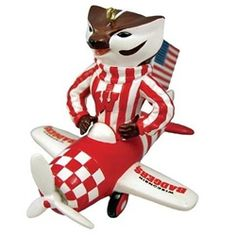 Jace 39 s airplane room on pinterest for Badger christmas decoration