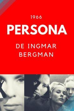 Persona(1966), de Ingmar Bergman. Clássico do cinema, um filme atemporal, que vai nos entregar temas filosóficos e do campo da psicologia, como o conceito de máscaras proposto por Carl Jung.