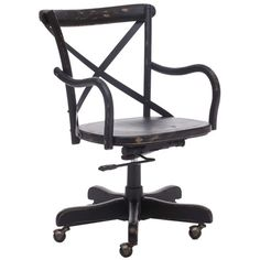 Union Office Chair in Black.