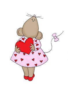 Free Dearie Dolls Digi Stamps: Search results for mousie Love Drawings, Easy Drawings, Mouse Crafts, Pet Mice, Cute Mouse, Pet Rocks, Quilted Wall Hangings, Digi Stamps, Vintage Valentines