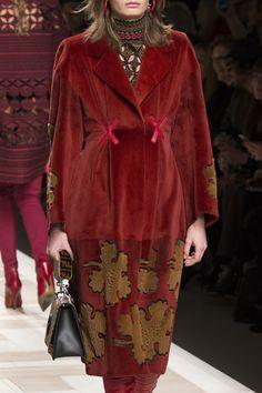 Fendi Fall 2017 Ready-to-Wear by Silvia Venturini Fendi and Karl Lagerfeld