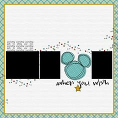 Free Digital Scrapbooking Templates, Layout sketches and Page Maps