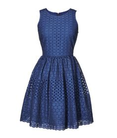 We can't take our eyelets off this pretty dress! Dress, $34.94 (sizes 0 to 18), $42.94 (sizes 1X to 4X); oldnavy.com.