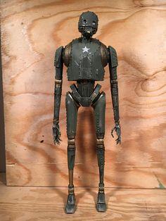 20 WW2 K2SO Star Wars custom painted toy
