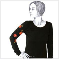 Maľované tričko Jablká – Malus – miu.sk Sweatshirts, Sweaters, T Shirt, Fashion, Supreme T Shirt, Moda, Tee Shirt, Fashion Styles, Trainers