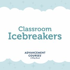 Great icebreaker ideas for your first day of school, new students and more!