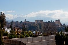 https://flic.kr/p/E5chDc   mmb 6909   Bonita vista de #Alhambra y #SierraNevada