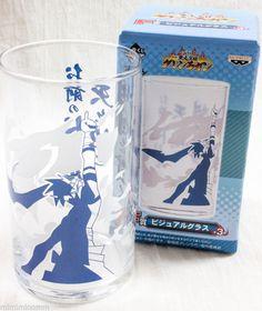 Gurren Lagann Visual Art Glass Kamina Banpresto Ichiban Kuji JAPAN ANIME