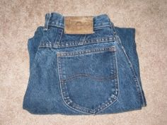 Women's Lee Dark Blue Denim Relaxed Jeans ...& if that attire is not appropriate, I don't want to go!!!