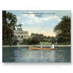 Lincoln Park, Chicago 1915, available for purchase from Zazzle!