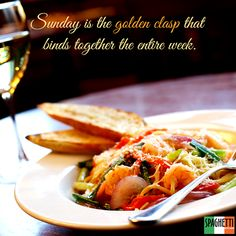 Start your week on a good note with delicious food at #SpaghettiKitchen #ForumCourtyard