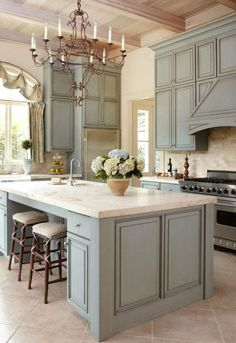 Like the Color on the Cabinets
