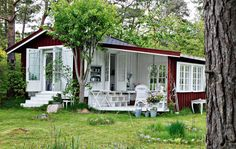 Small vintage style house