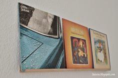 Luisen: DIY: Selbst gemachtes Schallplattenregal