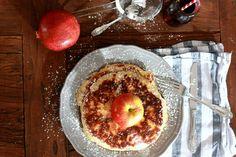Frühstücken kann man zu jeder Tageszeit! Vor allem diese Wahnsinns leckeren apfelpfannkuchen ❤️