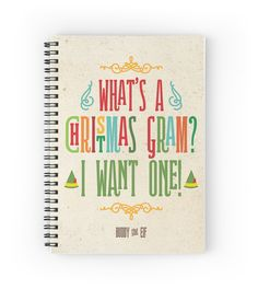 Buddy the Elf! What's a Christmas Gram? by noondaydesign