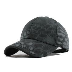 fd07537683e Men s Snapback Camouflage Tactical Hat Army Tactical Baseball Cap Head  Camouflag  1hrdeals Mens Sun Hats