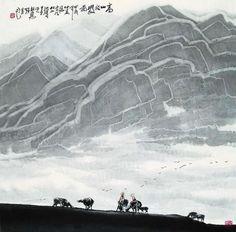 【国画】杜应强《山水墨韵》