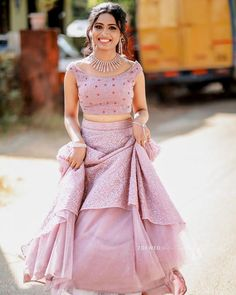 WhatsApp on 9496803123 to customise your handcrafted bridal wear with us online. - WhatsApp on 9496803123 to customise your handcrafted bridal wear with us online. Book your appointment now Source by liyaelizabethgeorge - Lehenga Designs Simple, Half Saree Designs, Blouse Designs, Kurta Designs, Churidhar Designs, Simple Lehenga, Long Gown Dress, Lehnga Dress, The Dress