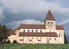 Notes małego historyka sztuki: architektura karolińska, Reichenau-Oberzell, kościół św. Jerzego (bryła i plan), 896