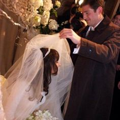 """Veiling the Bride """"Badeken""""- An Ancient Jewish Tradition dating back to Biblical Times... The Groom enters in to Veil His Bride before the Chuppah Ceremony... After the Tradition of Rebecca who veiled herself before meeting Isaac... Also provides privacy for the Bride during those Holy Moments..."""