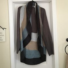 Charter club cardigan. Multicolored earth tones. Charter club cardigan. Multicolored earth tones. Very cute accent price to any outfit. Charter Club Sweaters Cardigans