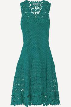 Uma belíssima inspiração de vestido by Oscar De La Renta!