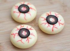 Snack spaventosi per halloween - Gli occhi da zombie