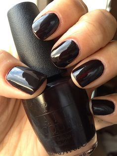 OPI Lincoln Park After Dark - one of my fave colours to wear