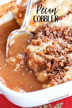 Pecan CobblerReally nice recipes. Every hour.Show me what you  Blog: Alles rund um die Themen Genuss & Geschmack  Kochen Backen Braten Vorspeisen Hauptgerichte und Desserts #hashtag