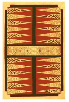 #ClippedOnIssuu from Great Book of Celtic Patterns - Lora S. Irish Beautiful backgammon board